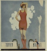 ladies swimwear 1920
