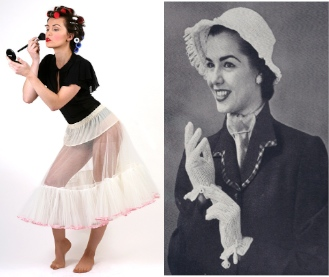 Fashions of the Fifties - Women's Retro Clothes - Dresses