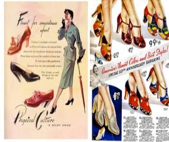 shoes in 50s